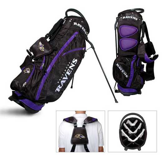 30228: Fairway Golf Stand Bag Baltimore Ravens